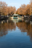 Canal Saint Martin, Paris. Stock Photo