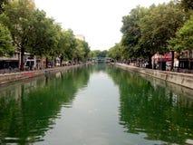 Canal Saint-Martin - Paris Royalty Free Stock Photo