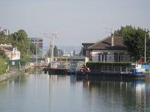 Canal Saint-Martin, Paris Stock Photo
