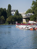 Canal Saint-Martin, Paris Royalty Free Stock Images