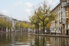 The Canal Saint-Martin. Royalty Free Stock Photo