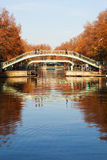 Canal Saint Martin, Paris. Stock Images