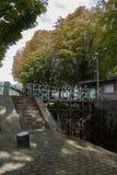 Canal Saint Martin Paris Stock Image
