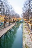 Canal Saint-Martin Royalty Free Stock Images