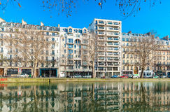 Canal Saint-Martin Stock Photo