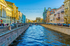 The Canal Royalty Free Stock Photos