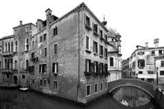 Canal Scene, Venice, Italy Stock Photos