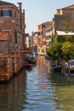 Canal Scene, Venice Stock Images