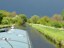 Canal scenery Royalty Free Stock Image