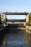 Canal Sluice gate Royalty Free Stock Photography