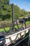 Canal Sluice Wheel Royalty Free Stock Photo