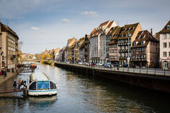 Canal in Strasbourg Stock Image
