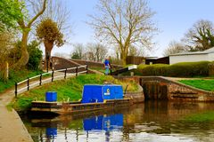 Canal Royalty Free Stock Images