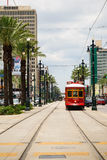 Canal Street cable car Royalty Free Stock Photography