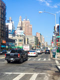 Canal Street at Chinatown in New York City. NEW YORK,USA - AUGUST 21,2015 : Canal Street at Chinatown in New York City stock photo