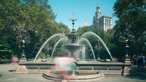 Canal street fountain 4k time lapse manhattan new york city. Canal street fountain 4k time lapse manhattan new york stock footage