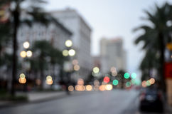 Canal street, New Orleans, Lousiana. United States Royalty Free Stock Photography