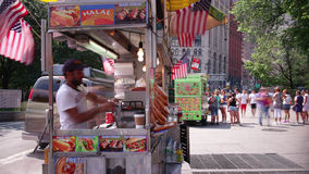 Canal street square 4k time lapse from brooklyn bridge start nyc stock footage
