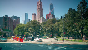 Canal street traffic road 4k time lapse from new york city. Canal street traffic road 4k time lapse from new york stock footage