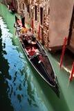 Canal típico em Veneza, Veneza, Vêneto, Itália Fotografia de Stock Royalty Free