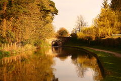 Canal Towpath Stock Photo