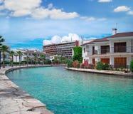 Canal tropical Fotografía de archivo