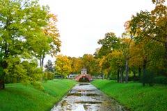 Canal in Tsarskoe Selo Stock Images