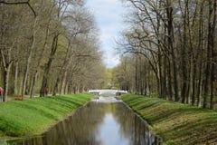 Canal in Tsarskoe Selo. Royalty Free Stock Photos