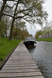 Canal in Utrecht Stock Photography