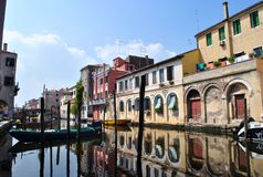 Canal Vena in Chioggia Stock Photography