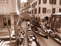 Canal Venecia de Gran Imagen de archivo libre de regalías