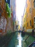 Canal Venecia, Italia foto de archivo libre de regalías
