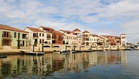 Canal veneciano foto de archivo
