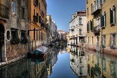 Canal veneciano Imágenes de archivo libres de regalías
