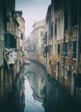 Canal veneciano Imagen de archivo libre de regalías