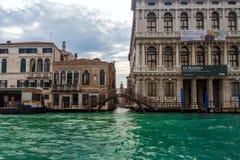 Canal Veneza grandioso Fotos de Stock Royalty Free