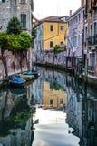 Canal, Veneza, Italia fotografia de stock royalty free