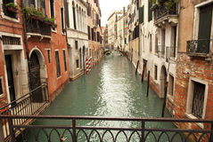 A canal of Venezia, Italy Royalty Free Stock Photos