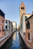Canal in Venezia Stock Photo