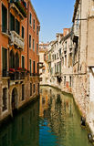 Canal in Venice. Italy. Summertime Royalty Free Stock Photography