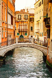Canal in Venice. Image of the canal in Venice Royalty Free Stock Image