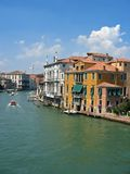 Canal of Venice. Italy stock image