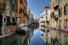canal, Venice Royalty Free Stock Images