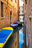 Canal in Venice Stock Photo