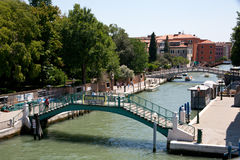 A canal in Venice Stock Photos
