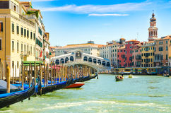 Canal in Venice Royalty Free Stock Photos