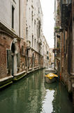 Canal,Venice, Italy. One of many water canals used as streets in the Venice Royalty Free Stock Photos