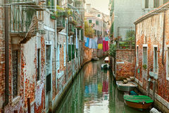 Canal in Venice, Italy Stock Image