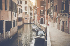 Canal in Venice Italy Royalty Free Stock Photos