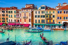 Canal in Venice, Italy royalty free stock photos
